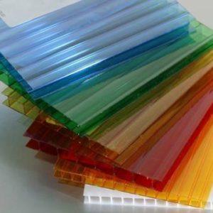 Поликарбонат 6.0 х 2.1  цветной