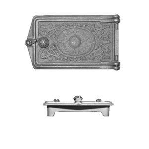 Дверь поддувальная ДП-2 (270*160) литком