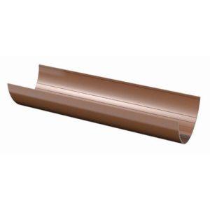 Водосточный желоб тн пвх коричневый 3м