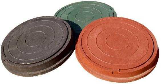 люк песчано-полимерный