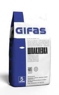 гифас GIFAS финиш шпаклёвка 5 кг