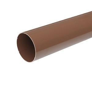 Водосточная труба тн пвх коричневый 3м